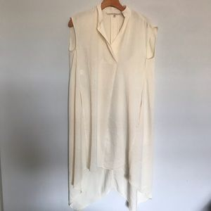 RACHEL Rachel Roy Dresses - Rachel Zoe | Sleeveless Cream Dress | Size XS